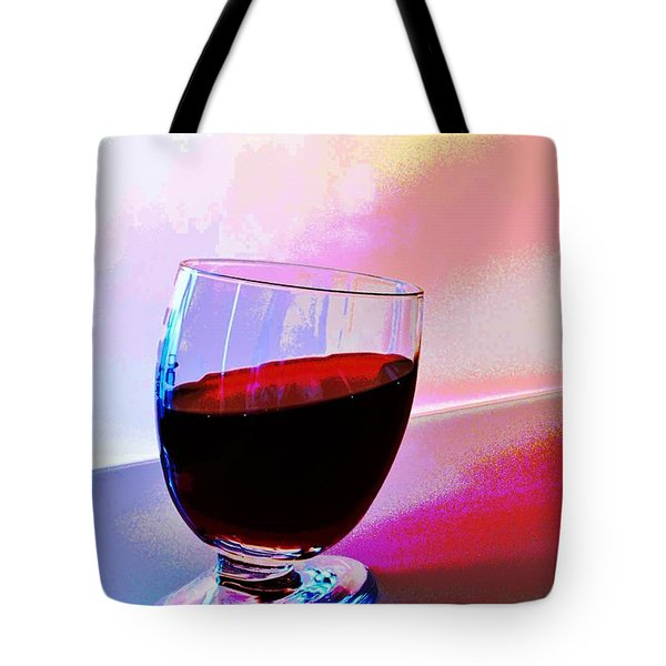 Tote Bag featuring the photograph Tipsy by Ludwig Keck