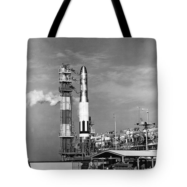 Titan Missile Ready To Launch Tote Bag