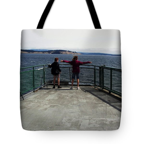 Titanic Influence Tote Bag by Natalie Ortiz