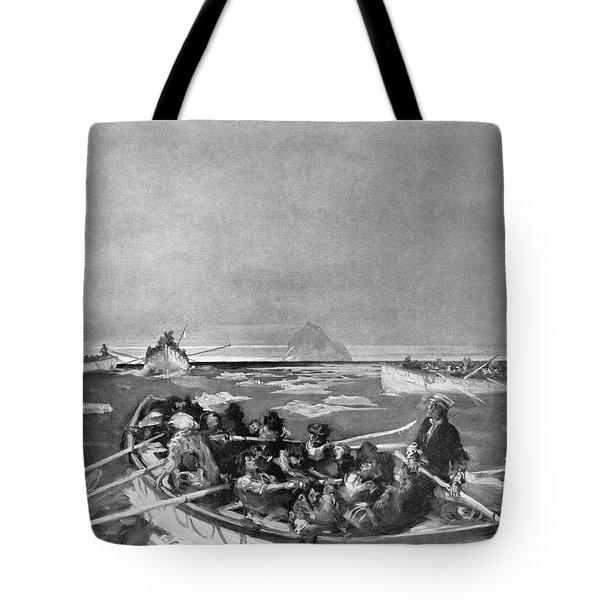Titanic Lifeboat, 1912 Tote Bag