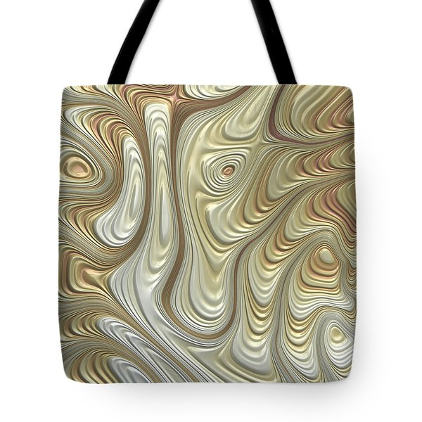 Titanium Flow Tote Bag