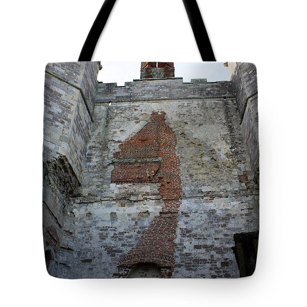 Titchfield Abbey From Within Tote Bag by Terri Waters