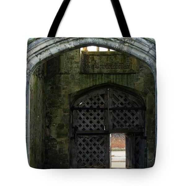 Titchfield Abbey Gatehouse Tote Bag by Terri Waters