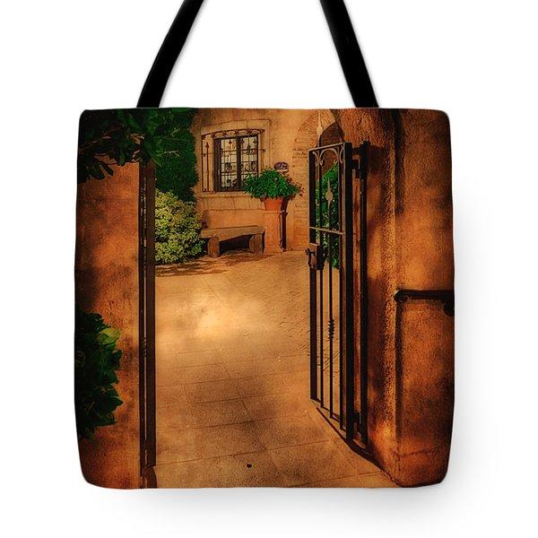 Tlaquepaque Tote Bag by Priscilla Burgers