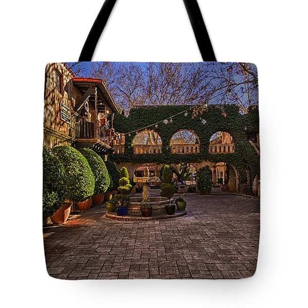 Tote Bag featuring the photograph Tlaquepaque Village No.1 by Mark Myhaver