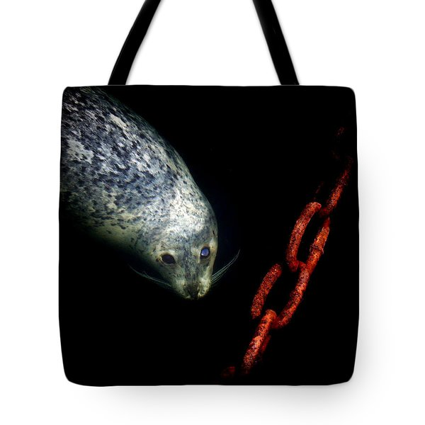 To A Pier  Tote Bag