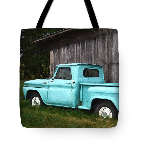 To Be Country - Vintage Vehicle Art Tote Bag by Jordan Blackstone
