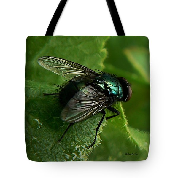 To Be The Fly On The Salad Greens Tote Bag