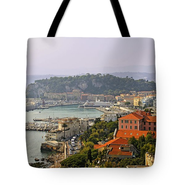 To Catch A Thief - Nice France Tote Bag by Christine Till