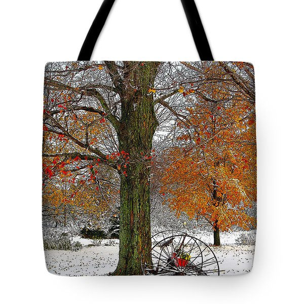 To Everything There Is A Season... Tote Bag