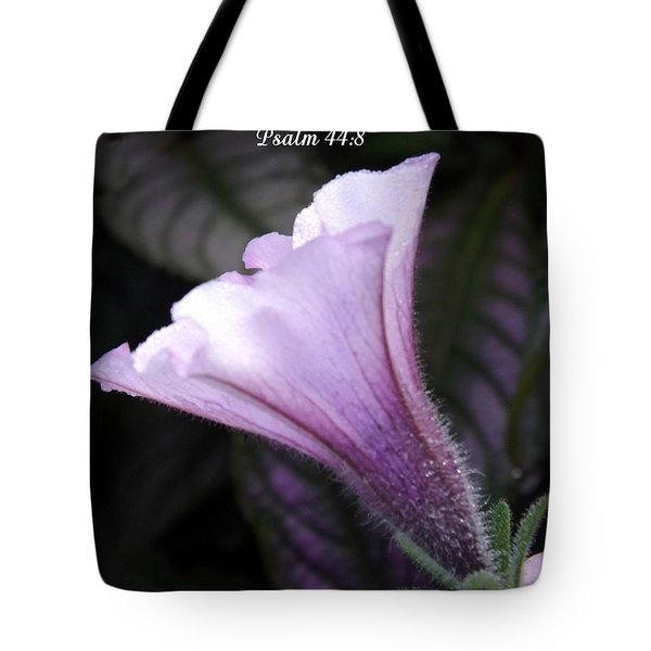 To God Give The Glory Tote Bag by Sara  Raber
