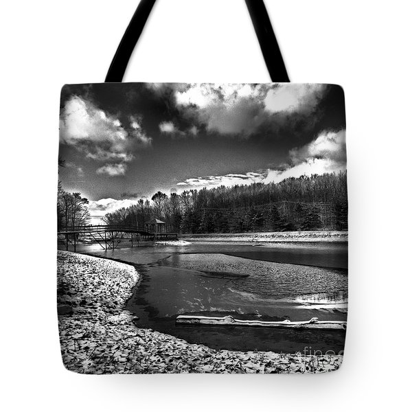 Tote Bag featuring the photograph To Grand Mother's House by Robert McCubbin