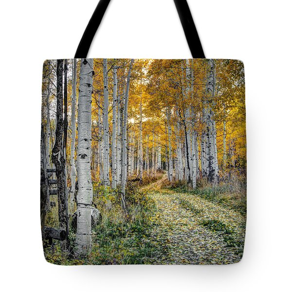 To Grandmother's House Tote Bag by George Buxbaum