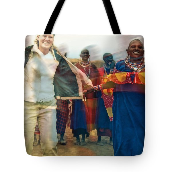 To Hold Hands Tote Bag by Gwyn Newcombe