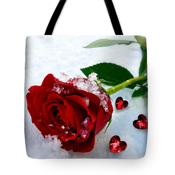 To Make You Feel My Love Tote Bag by Morag Bates