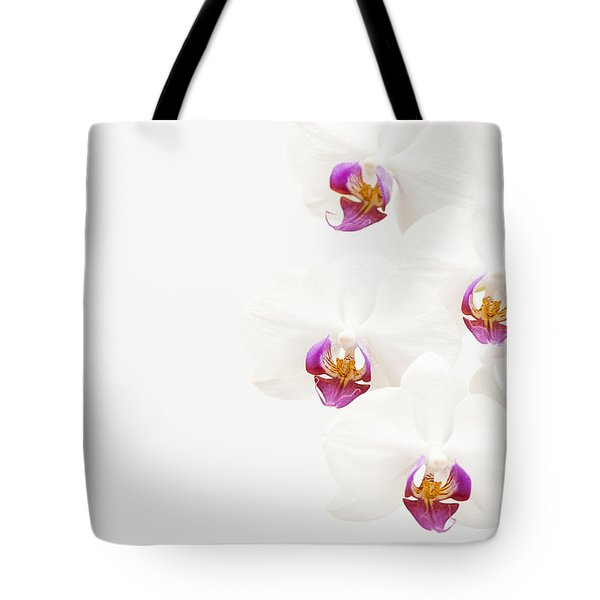 To One Side Tote Bag by Anne Gilbert