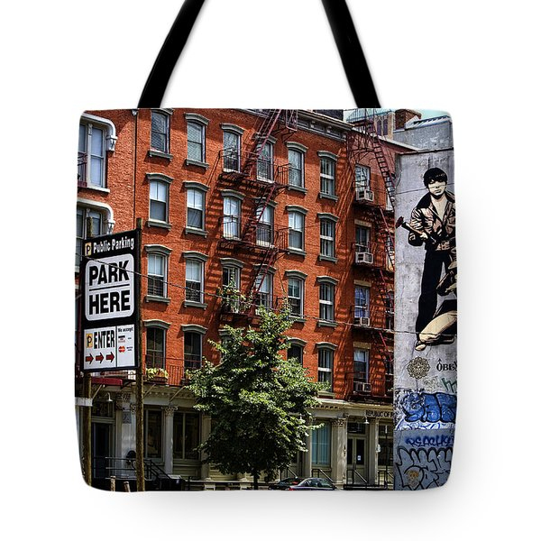 To Park Or Not To Park Tote Bag by Joanna Madloch