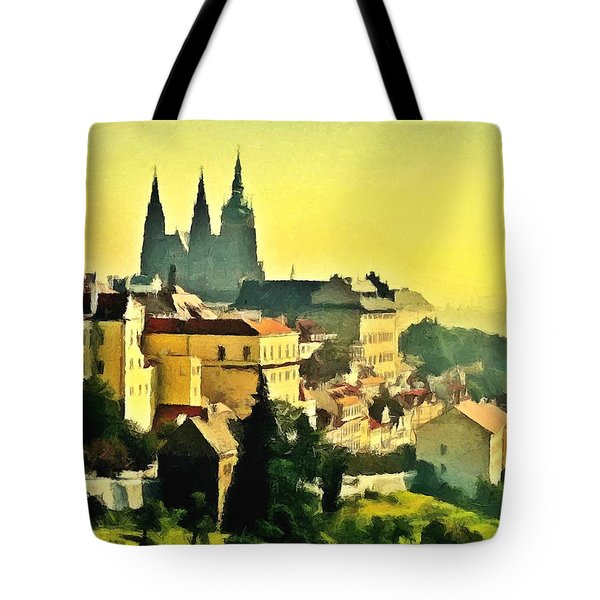 To Prague With Love... Tote Bag