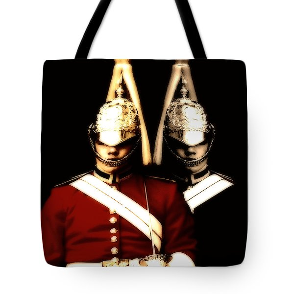 Tote Bag featuring the digital art I See Double  by Fine Art By Andrew David