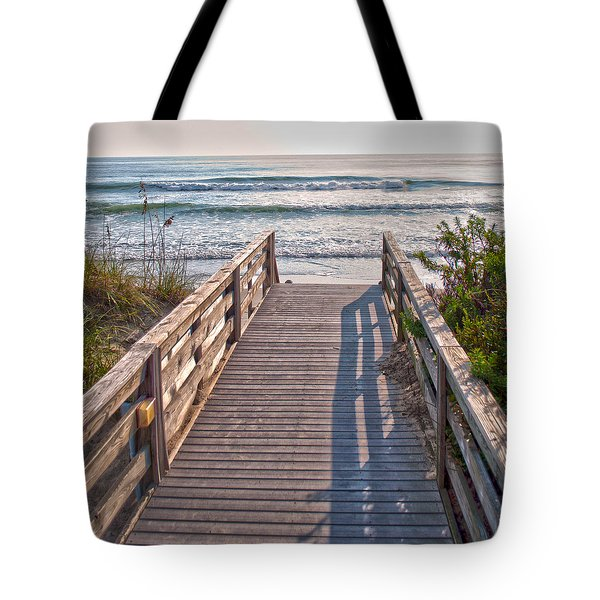 To The Beach Tote Bag by Paulette B Wright