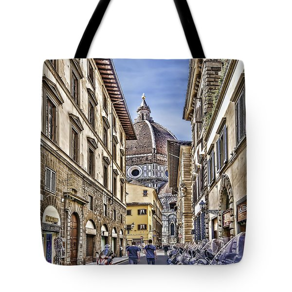 To The Duomo Tote Bag