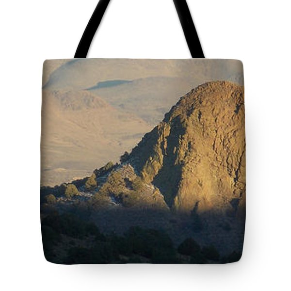 To The End Of Nevada Tote Bag