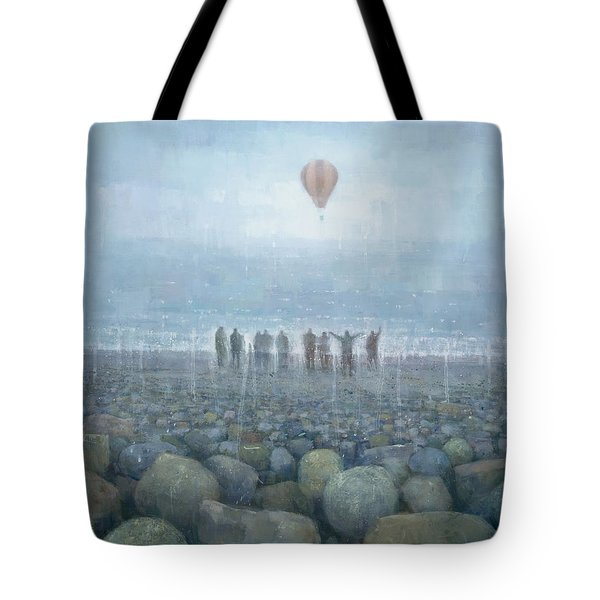 To The Mountains Of The Moon Tote Bag