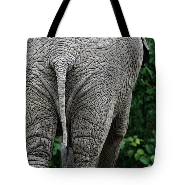 To The Rear March Tote Bag by Karol Livote