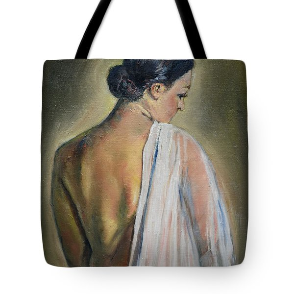 To The Shower Tote Bag
