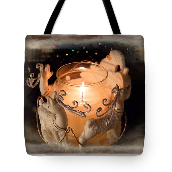 To The Top Of The Porch To The Top Of The Wall  Now Dash Away Dash Away Dash Away All Tote Bag by Lucinda Walter