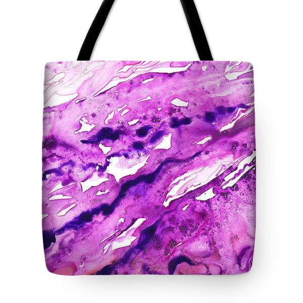 To The Unknown Abstract Path Number Eight Tote Bag by Irina Sztukowski