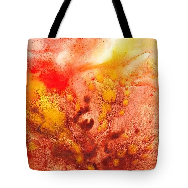 To The Unknown Abstract Path Number Three Tote Bag by Irina Sztukowski