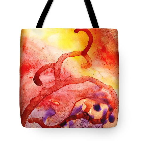 To The Unknown Abstract Path Number Two Tote Bag by Irina Sztukowski