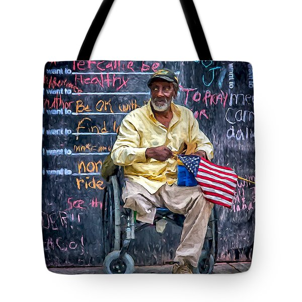 To Those Who Served Tote Bag