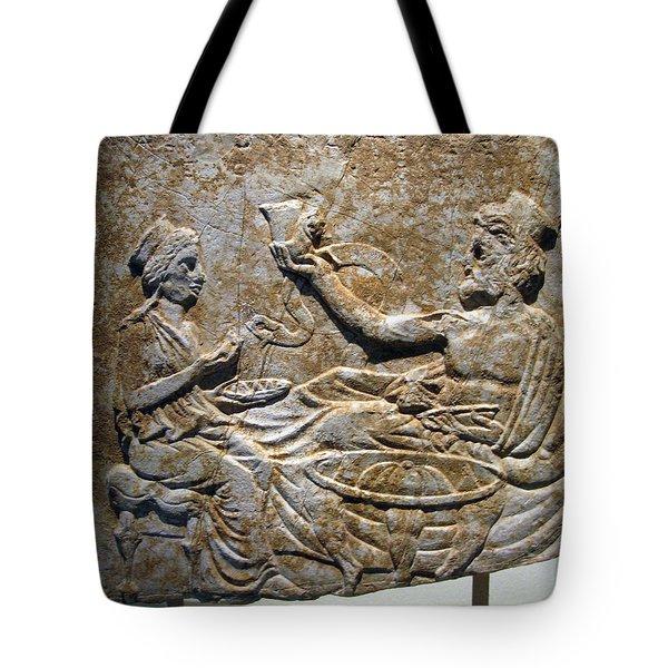 Toast Tote Bag by Andonis Katanos
