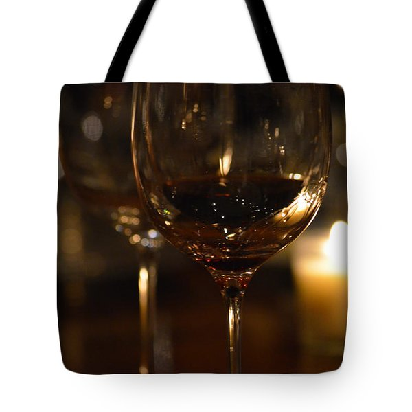 Toast For Wine Lovers 1 Tote Bag by Deprise Brescia