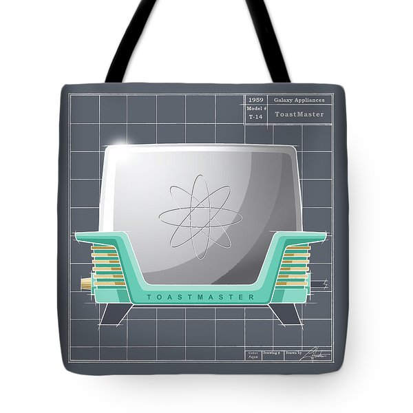 Toastmaster - Aqua Tote Bag