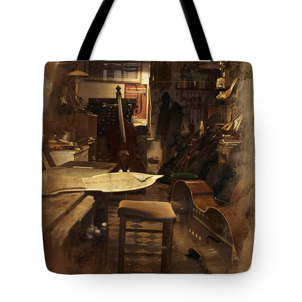 Tobacco Cello Tote Bag