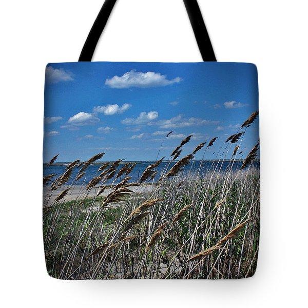 Tobay Beach Li Tote Bag by Mikki Cucuzzo