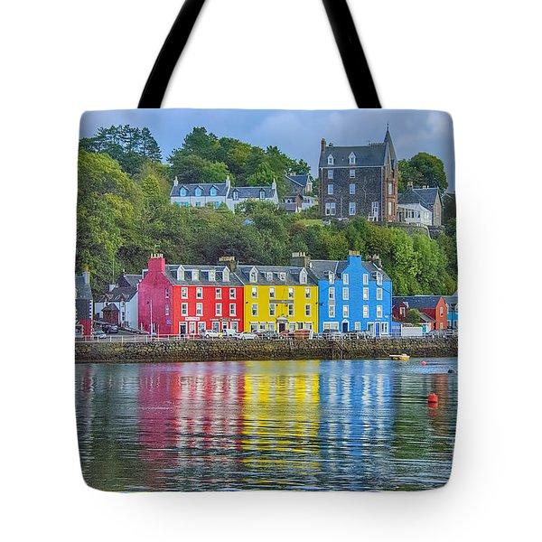 Tobermory Isle Of Mull Tote Bag