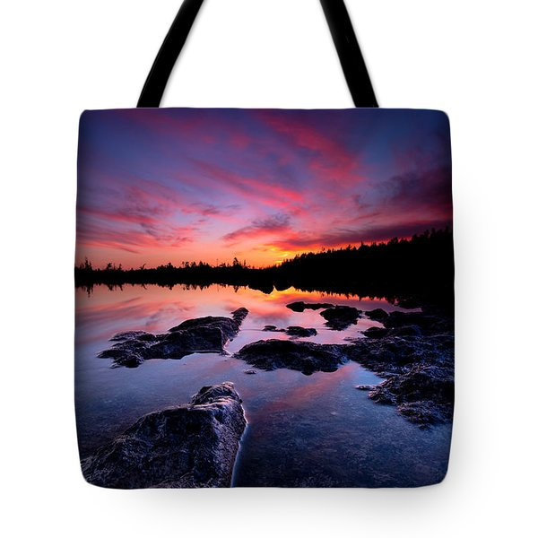 Tobermory Sunset 2 Tote Bag