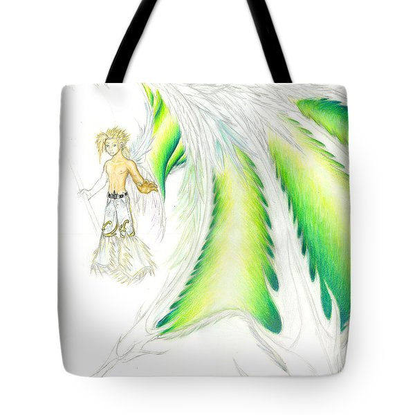 Tobias Incomplete Tote Bag by Shawn Dall