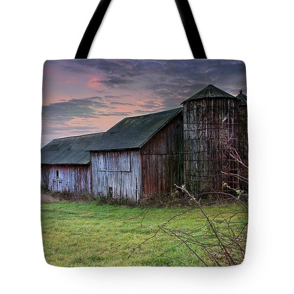 Tobin's Barn Tote Bag by John Vose