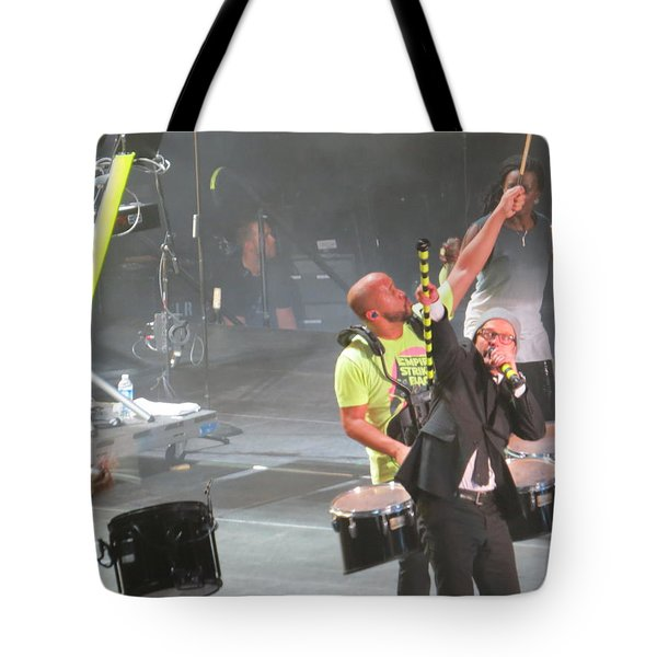 Tote Bag featuring the photograph Toby Mac Headline Winterjam by Aaron Martens