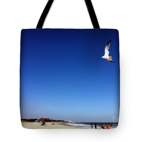 Tote Bag featuring the photograph Today I Will Soar Like A Bird by Phil Mancuso