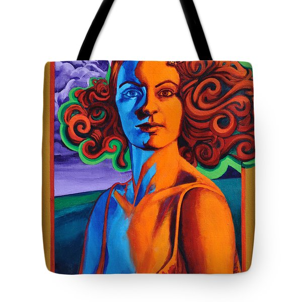 Tote Bag featuring the painting Today's Lesson by Greg Skrtic