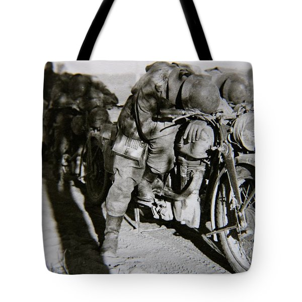 Todmude / Dead Tired Tote Bag