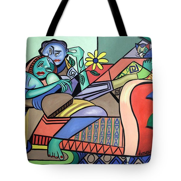 Together Again Tote Bag by Anthony Falbo