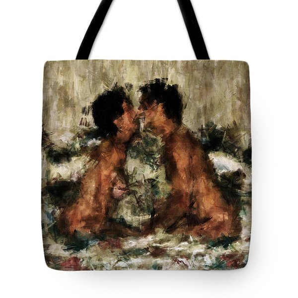 Together Tote Bag by Kurt Van Wagner
