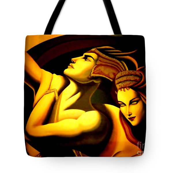 Together Tote Bag by Newel Hunter